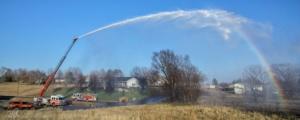 Fire Truck Rainbow